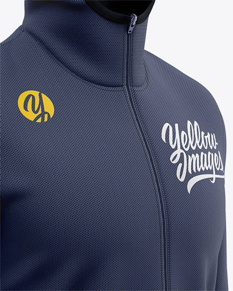 Download Basketball Full Zip Hoodie Mockup Front Half Side View Of Hooded Jacket In Apparel Mockups On Yellow Images Object Mockups