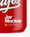 Matte Jar Mockup