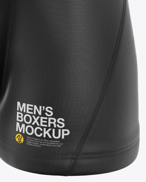 Men's Boxer Briefs Mockup