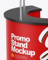 Matte Promo Stand Mockup