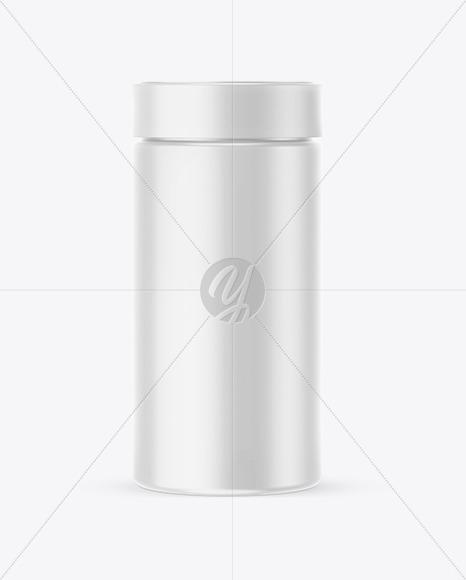 Matte Round Jar Mockup