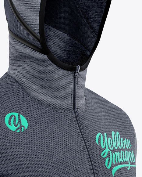 Download Basketball Heather Hoodie Mockup Front Half Side View Of Hooded Jacket In Apparel Mockups On Yellow Images Object Mockups