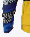 Men's Long Sleeve Full-Zip Jersey Mockup