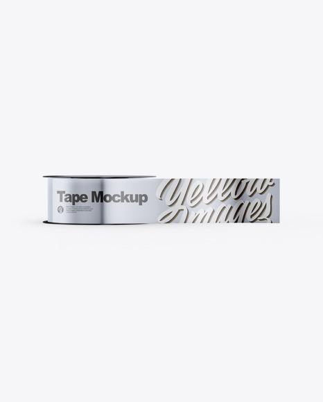 Download Metallic Duct Tape PSD Mockup