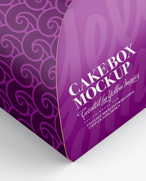 Download Paper Cake Box Mockup PSD - Free PSD Mockup Templates