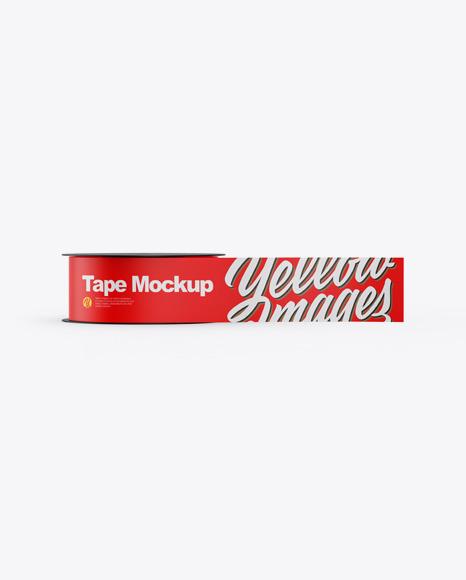 Download Matte Tape PSD Mockup