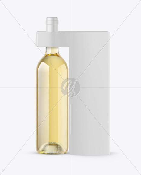 Wine Bottle Box Mockup