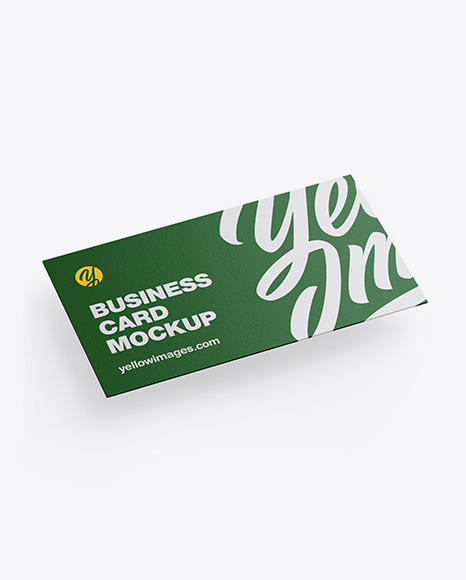 Download Textured Business Card PSD Mockup