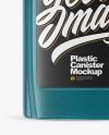Plastic Canister Mockup