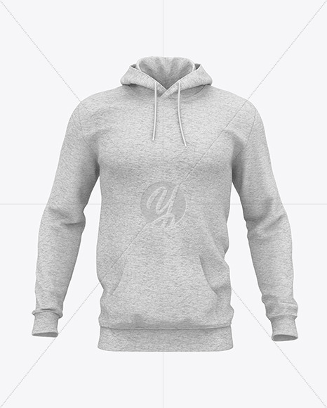Download Mens Heather Midweight Sweatshirt Mockup Front View Yellowimages
