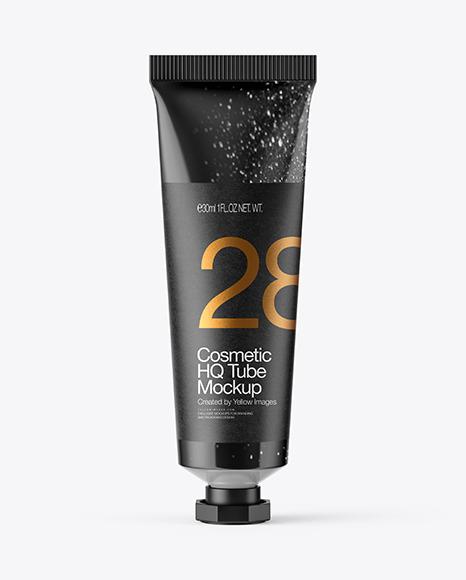 Download Glossy Cosmetic Tube PSD Mockup