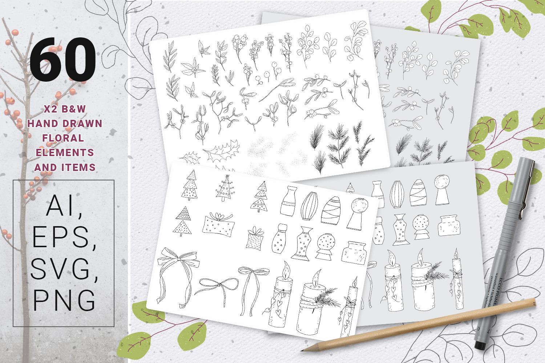 Mistletoe Christmas Design Kit