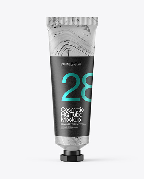 Download Matte Cosmetic Tube PSD Mockup