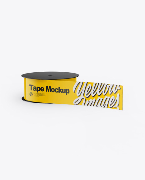 Download Glossy Duct Tape PSD Mockup