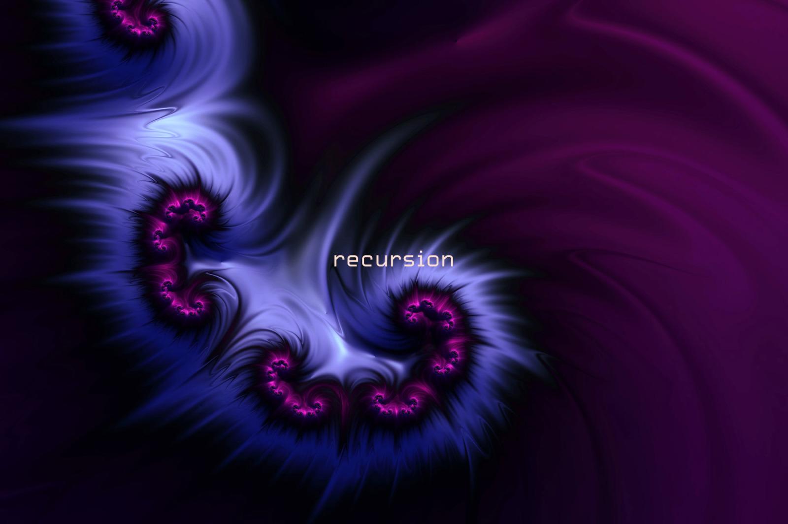 Recursion: Hi-res Fractal Textures