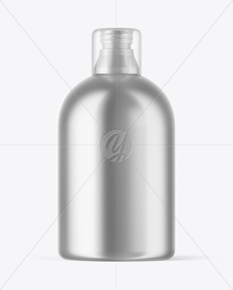 Download Metallic Airless Pump Bottle Mockup In Bottle Mockups On Yellow Images Object Mockups PSD Mockup Templates
