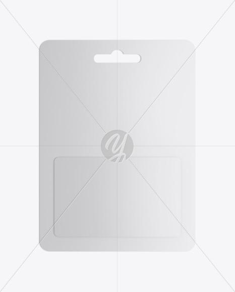 Plastic Card Pack Mockup
