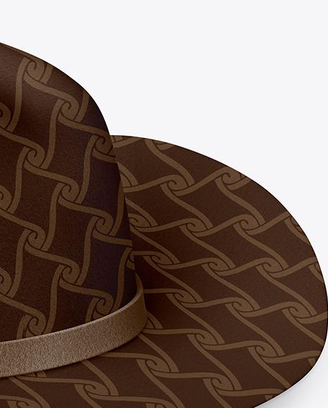 Fedora Hat Mockup