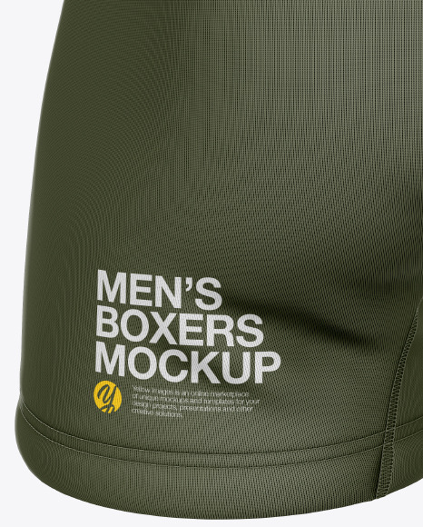 Men's Boxer Briefs Mockup