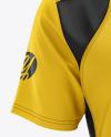 Men's Club Polo Shirt mockup (Front View)