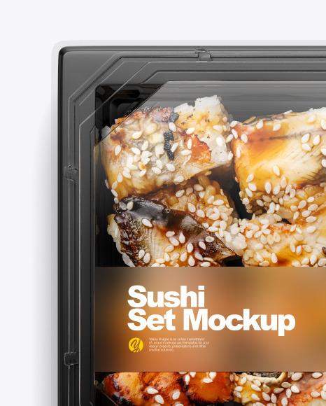 Sushi Set Mockup