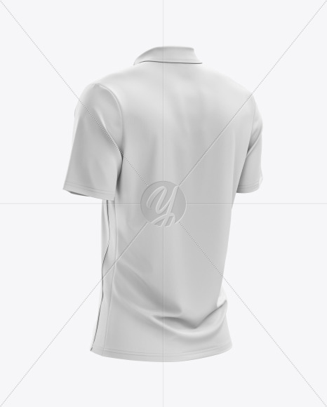 Download Mens Heather Short Sleeve T Shirt Mockup Back Half Side View Yellowimages