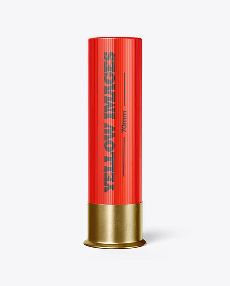 Shotgun Cartridge Mockup