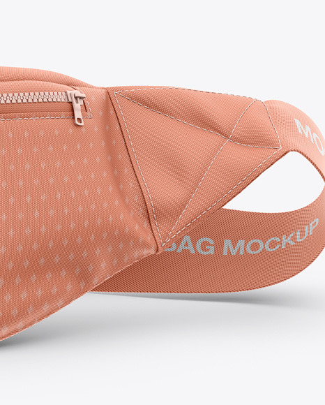 Bum Bag Mockup - Front View