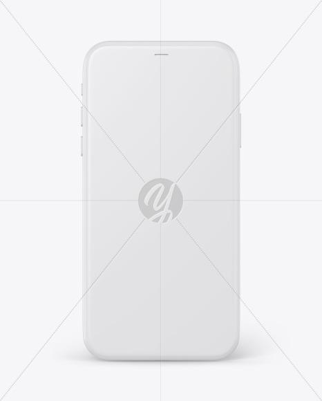 Clay Apple iPhone 11 Pro Mockup