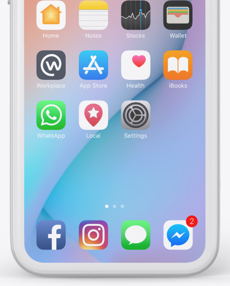 Iphone Clay Mockup Free