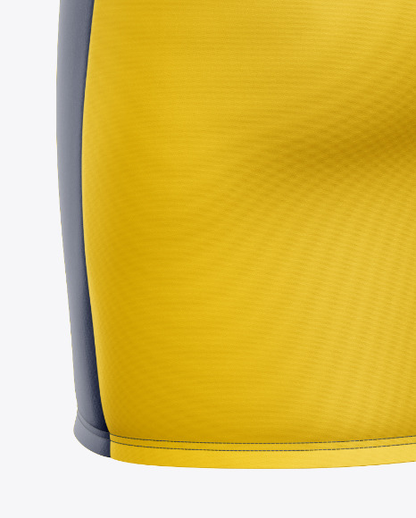 Women's Sport Dress Mockup - Back Half-Side View