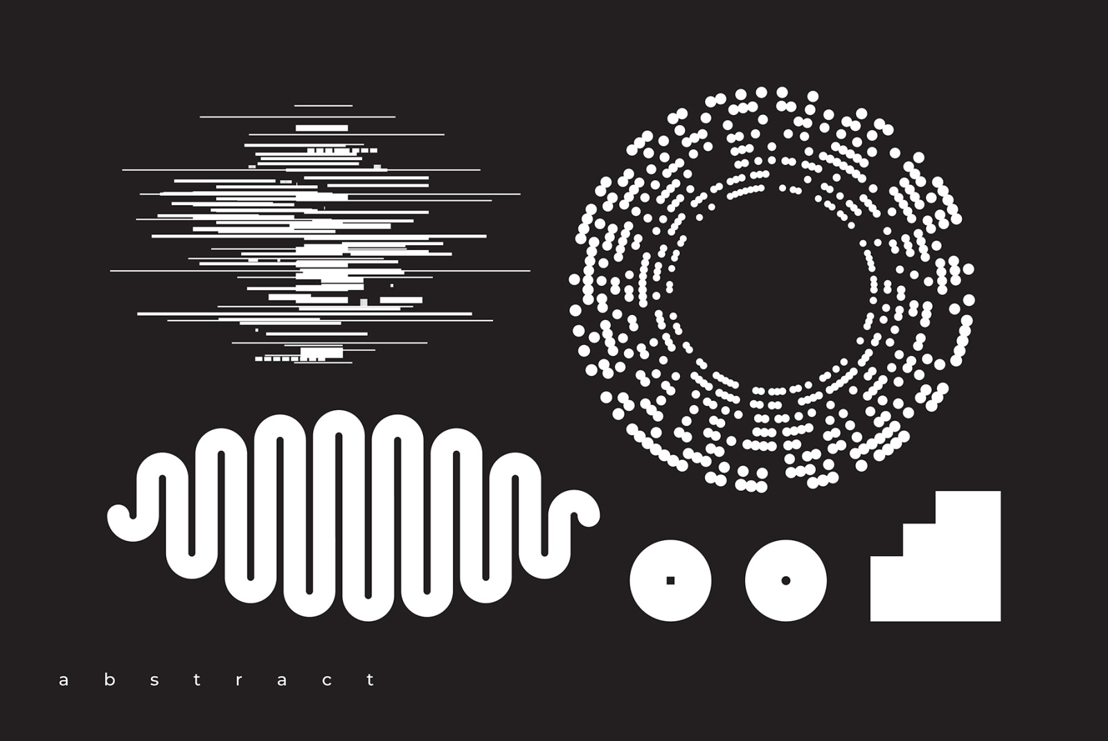 Abstract. 100 Universal Vector Objects