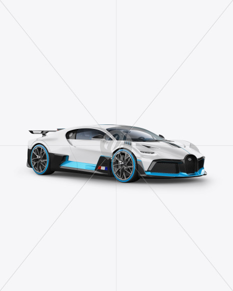 Download Super Car Mockup Half Side View In Vehicle Mockups On Yellow Images Object Mockups PSD Mockup Templates