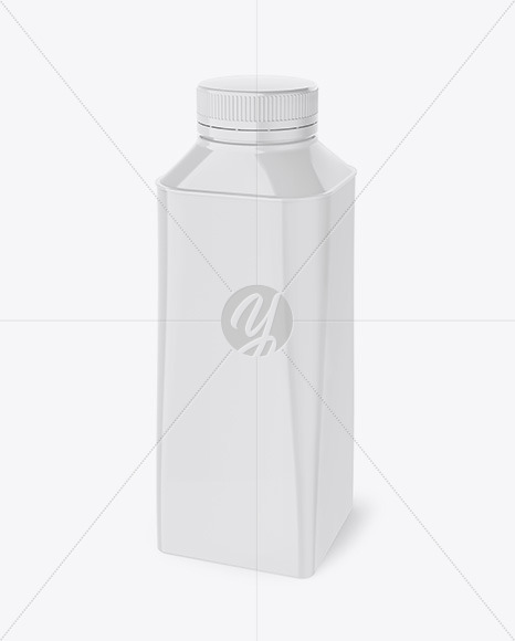 Glossy Juice Package Mockup
