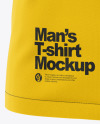 Men's Raglan Pocket T-Shirt - Front View