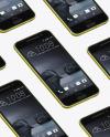 Acid Gold HTC A9 Phone Mockup
