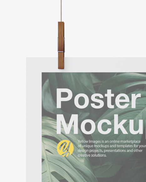 Matte A3 Poster Mockup