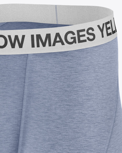 Melange Men's Boxer Briefs Mockup