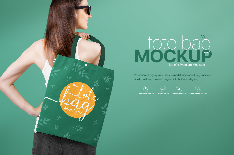 Tote Bag Mockup Vol.1
