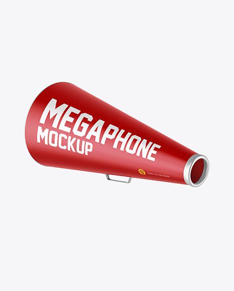 Megaphone Mockup