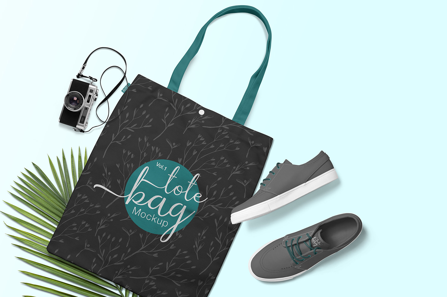 Download Blank Canvas Bag Mockup Yellowimages