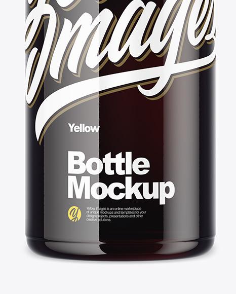 Cola Bottle Mockup