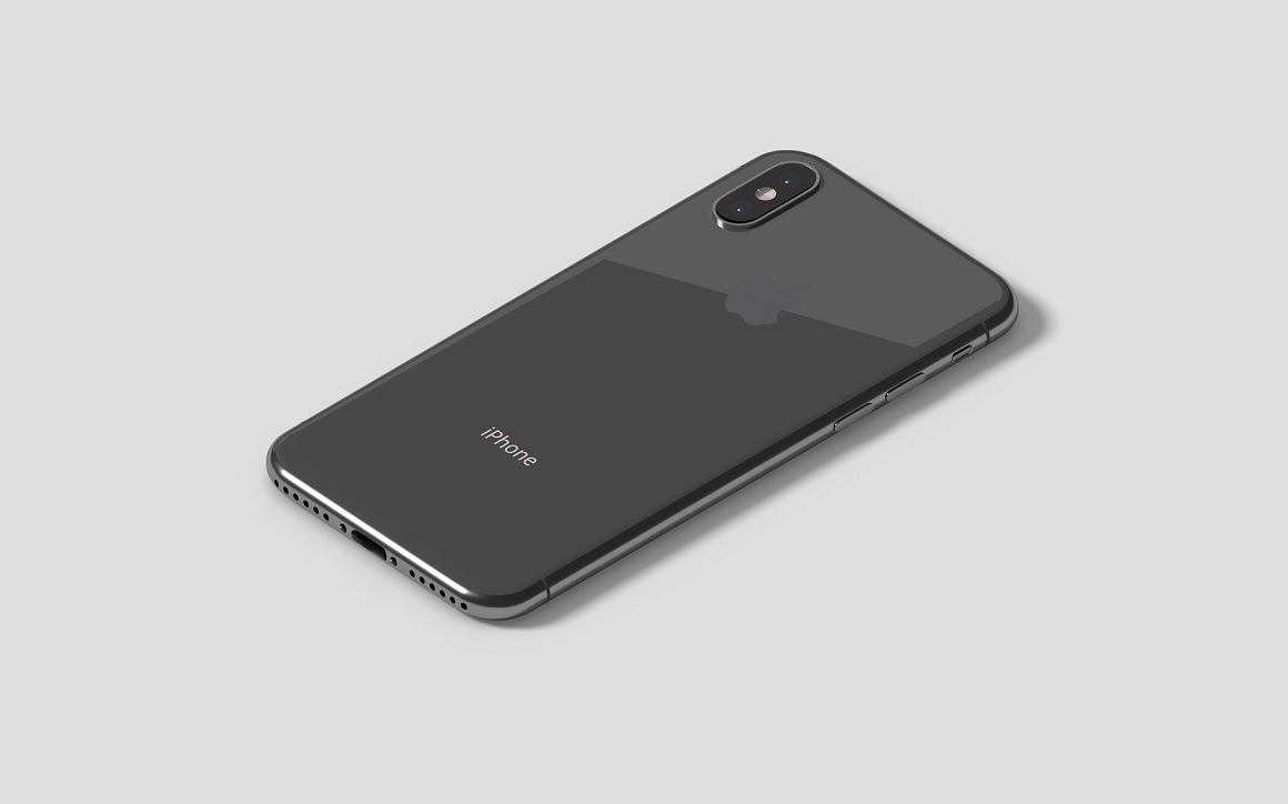 Isometric iPhone X Mockups