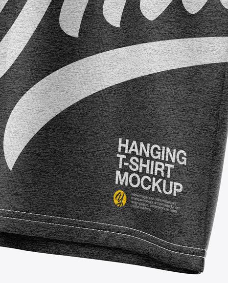 Heather T-Shirt On Hanger