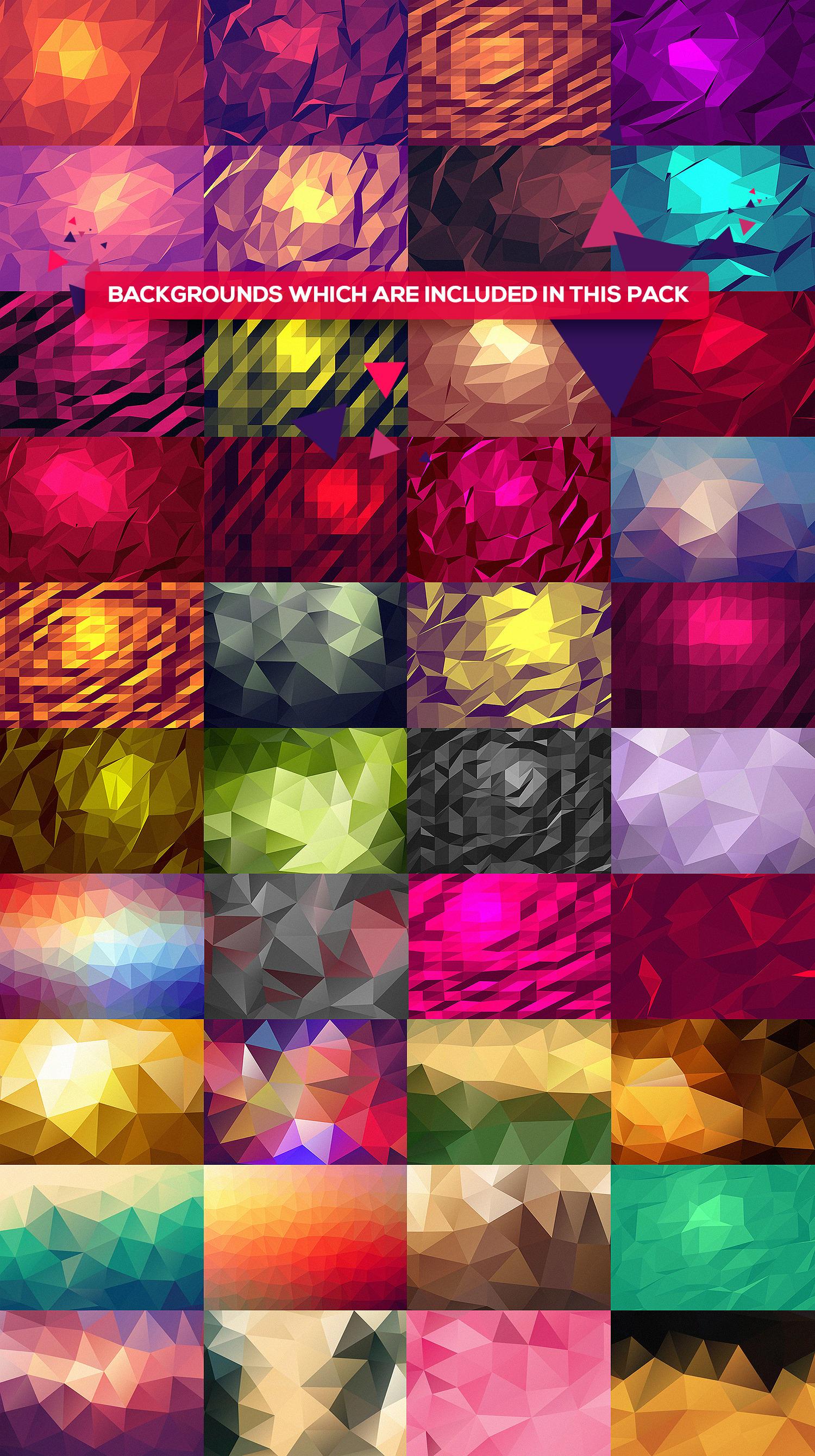 101 Geometric Pattern Set
