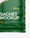 Paper Sachet Mockup