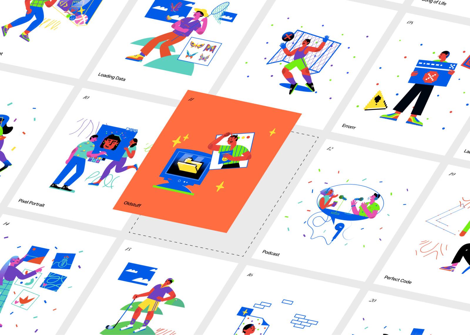 Blink Illustrations