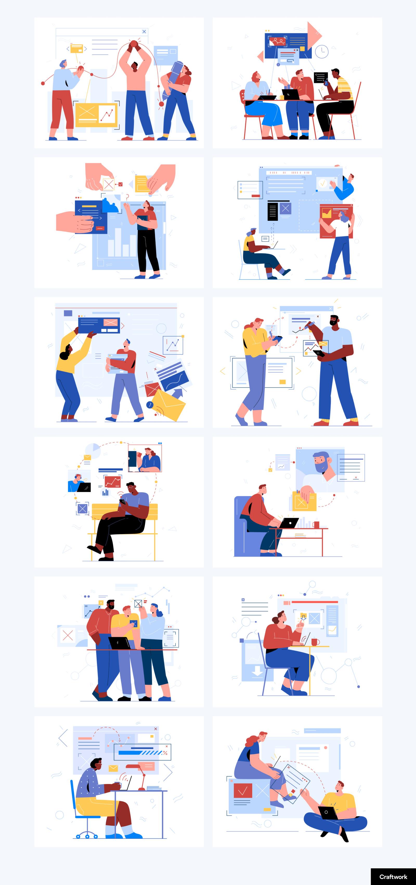 Teammates Illustration