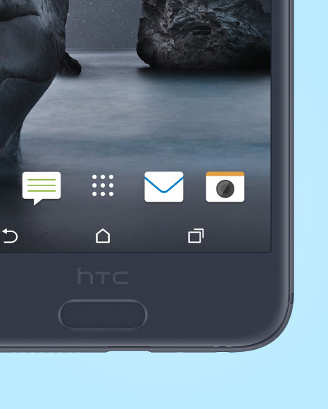 Clay HTC A9 Phone Mockup