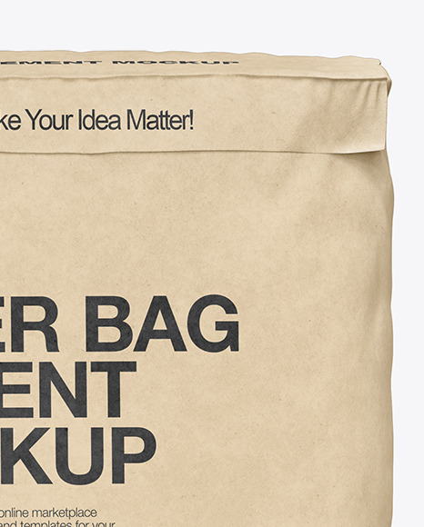 Download Cement Bag Mockup Psd Free Download Yellowimages